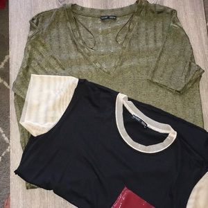 Zara Dress Tee and T-shirt